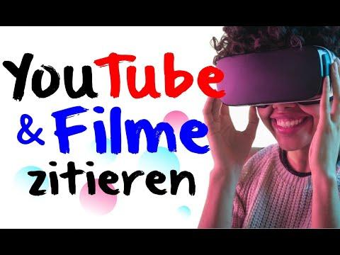 Youtube / Film zitieren ✅ So gehts!