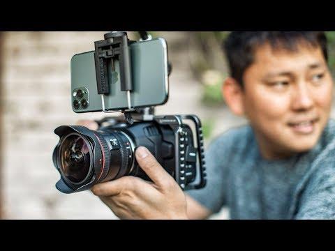 iPhone 11 Pro 4k vs BMPCC 6k Cinema Camera