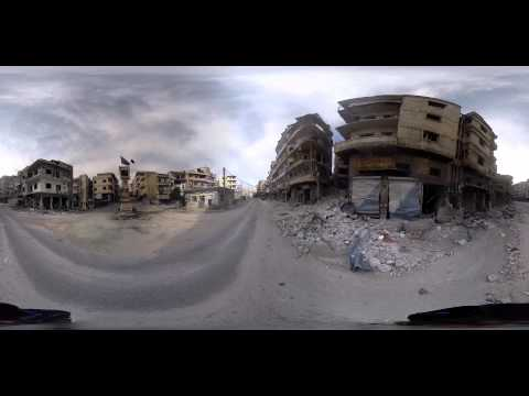 The Battle for Northern Syria - 360° Virtual Reality Report