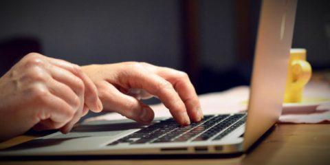 Tastatur tippen Notebook - Gutes Drehbuch schreiben
