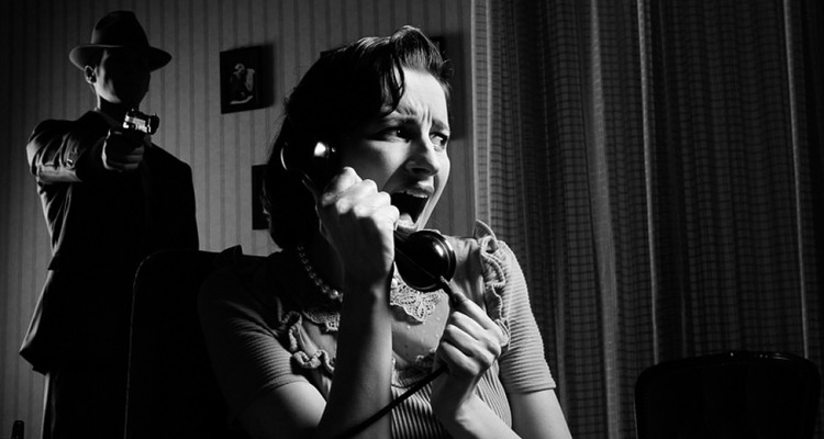 Film Noir Lichtsetzung: Licht im Film Noir Stil