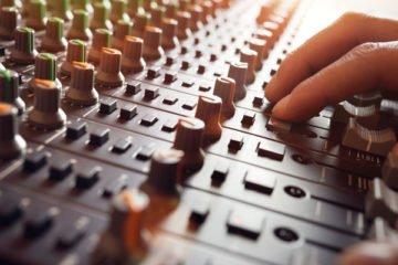 Mischpult Tonaufnahme - Grundlagen für gute Tonaufnahmen