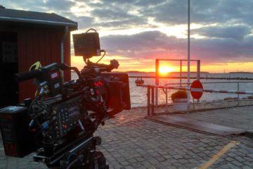 ARRI Kamera vor Sonnenuntergang - Kameraführung im Film